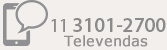 11 3101-2700 Televendas